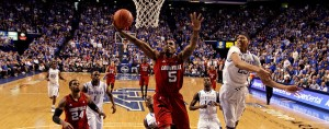 University of Louisville Cardinals vs. University of Kentucky Wildcats in the NCAA Final Four