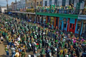 St. Patrick's Day Party and Parade New Orleans