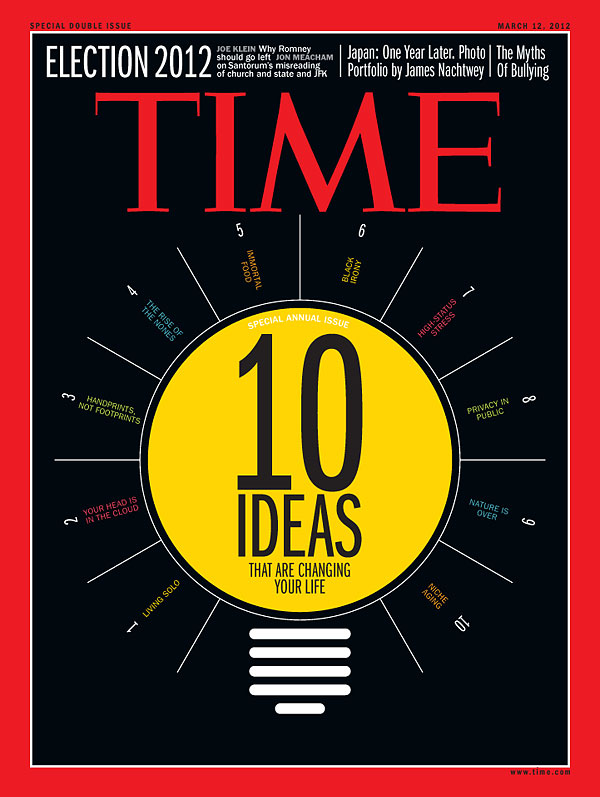 Time Magazine March 2012 10 Ideas