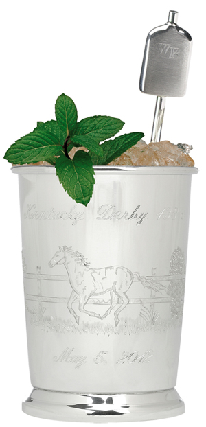 $1000 Dollar Mint Julep Sterling SIlver Kentucky Derby