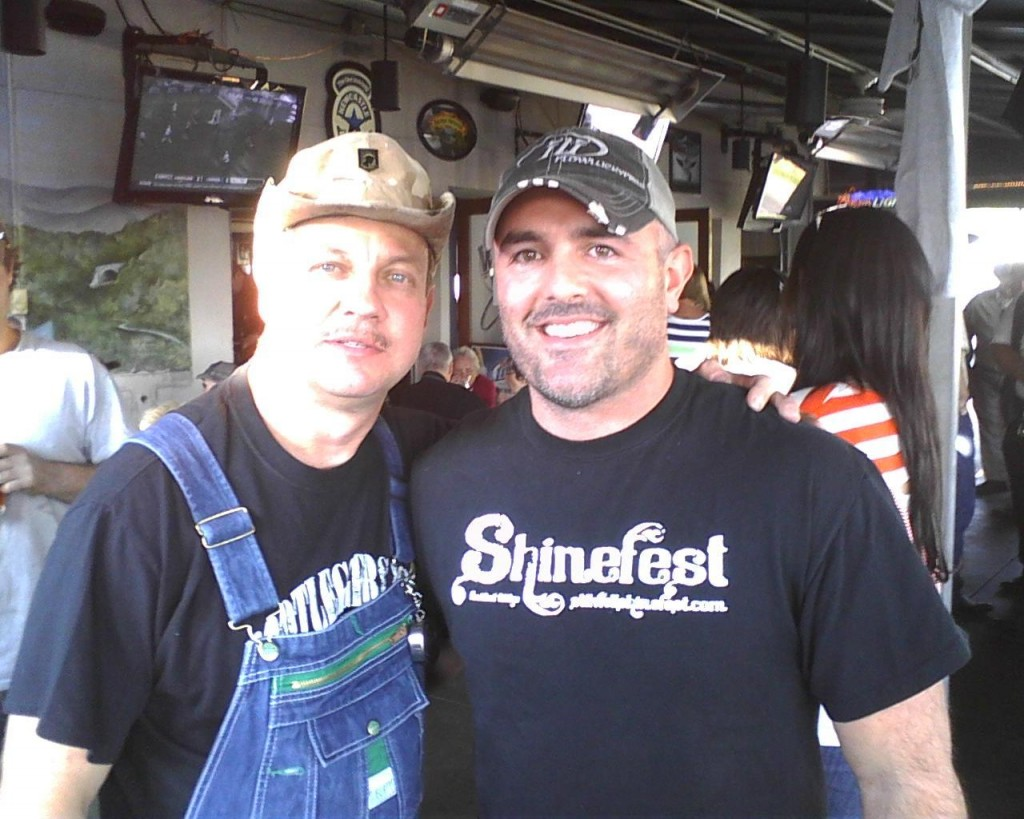 Moonshiners Tim With Moonshiner Tim Smith