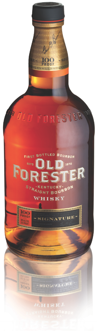 Old Forester Signature Bourbon new bottle