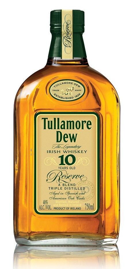 Tullamore Dew 10 Year Old Reserve Blended Irish Whiskey