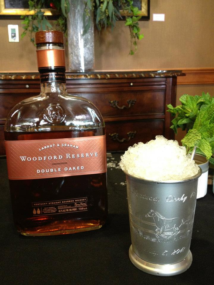 The 2012 Woodford Reserve $1000 Dollar Mint Julep will be made with the new Wooddford Reserve Double Oaked Bourbon for Kentucky Derby 138
