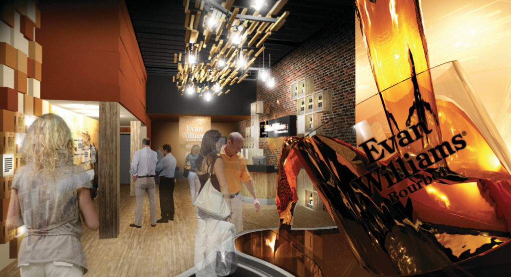 "Evan Williams Bourbon Experience will open in downtown Louisville in the heart of what was once called ""Whiskey Row"""