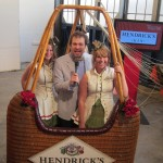BourbonBlog.com's Tom Fischer reports live from the Hendrick's Gin Hot Air Balloon