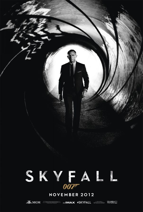 Skyfall James Bond Movie Poster