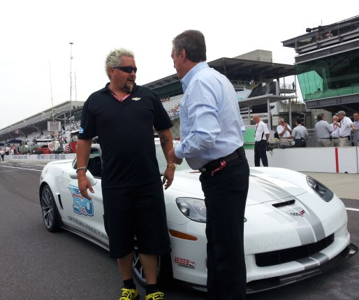 Guy Fieri 2013 Corvette ZR1, Indy 500 Pace Car