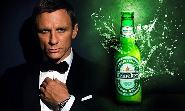 Skyfall James Bond Heineken Daniel Craig