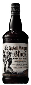 Captain Morgan Black Rum Bottle