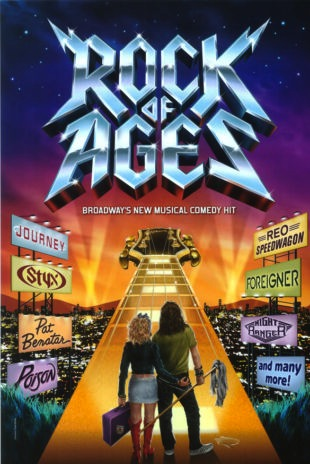 Rock of Ages Musical Poster