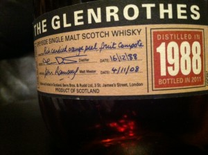 Glenrothes 1988 Review
