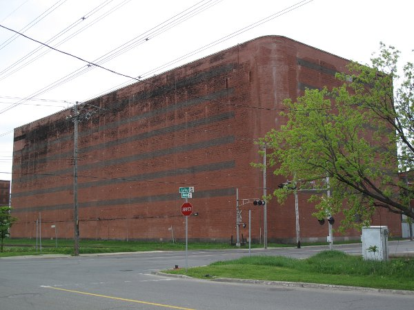 A warehouse at the old LaSalle Distillery in Canada Photo courtesy of Davin de Kergommeaux