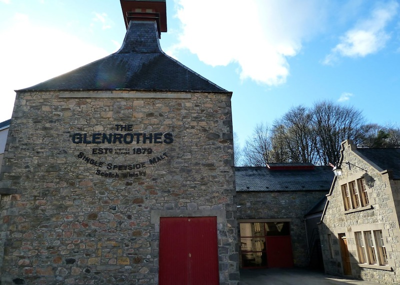 The Glenrothes Distillery, Rothes, Banffshire, By the Burn of Rothes, Scotland