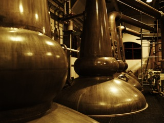 The Stills at The Glenrothes Distillery, Scotland