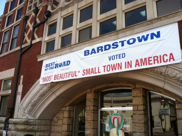 Bardstown, KY is the Most Beautiful Small Town in America - Wins Honor in Rand McNally/USA TODAY 'Best of the Road' 2012 Contest