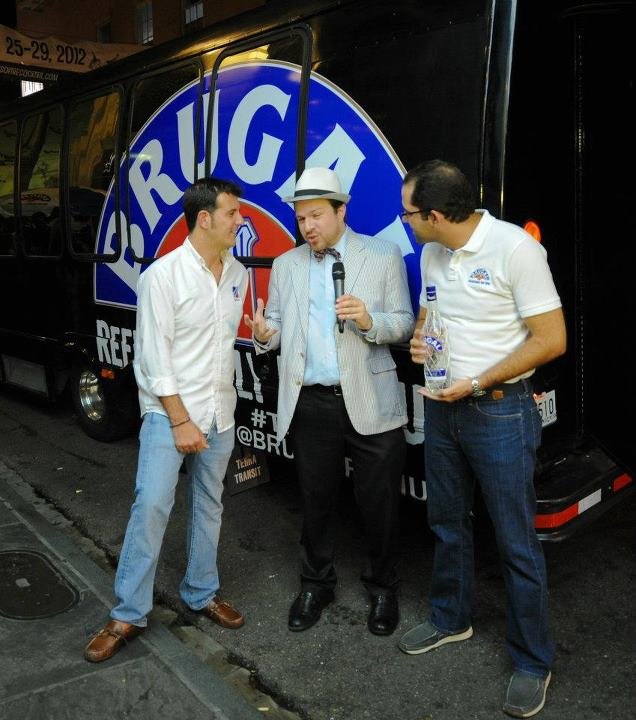 Gustavo Ortega Zeller  - 5th generation Rum Master of the Brugal family  and Juan Campos -  Brugal Brand Development Manager