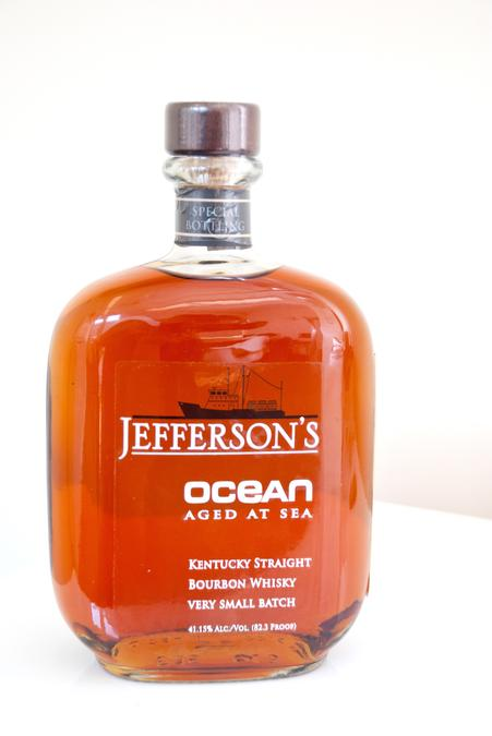 Jefferson's Ocean Aged Bourbon Bottle