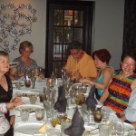 Guests enjoy the Miracle Berry Dinner at Majid's St. Matthews, Louisville