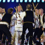 Monty Python's Eric Idle performs comedy at London Olympics Closing Ceremony 2012