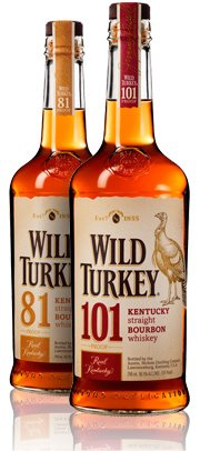 Wild Turkey bottles