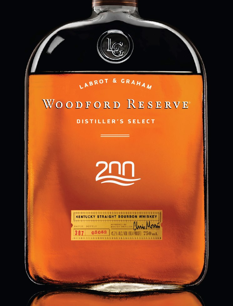 Woodford Reserve 200th Anniversary Bottle