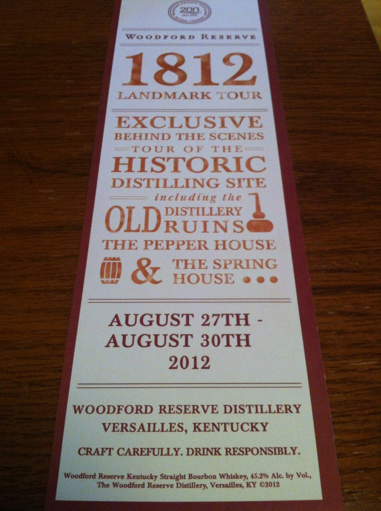 Woodford Reserve Tours