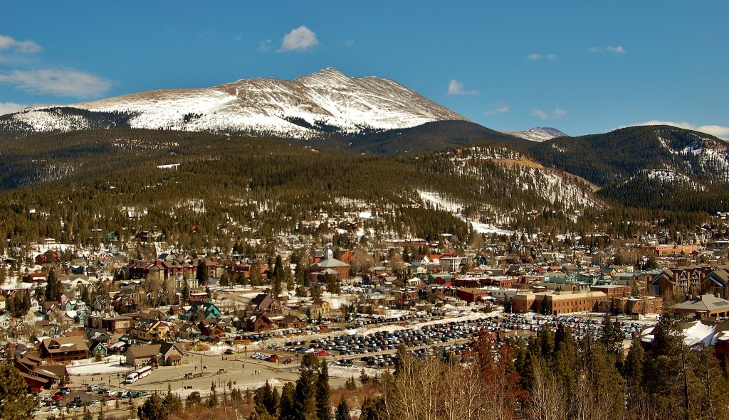 Breckenridge Colorado mountains