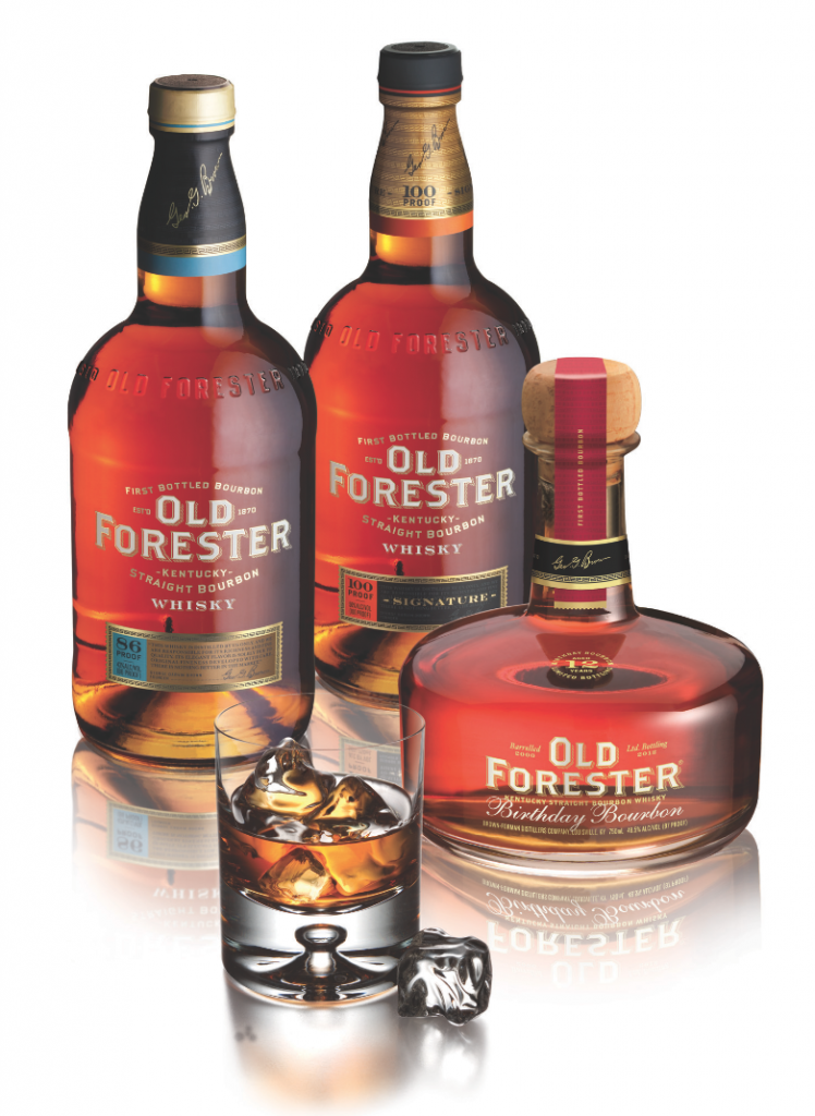 New designs for the Old Forester Bourbon Collection