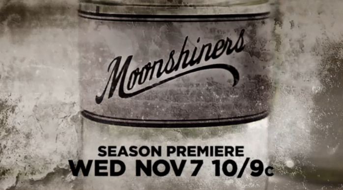 Moonshiners Season 2 logo on Discovery Channel