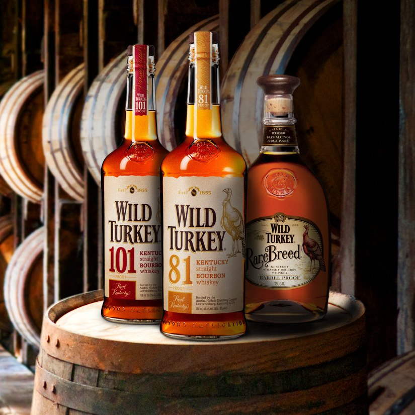 Wild Turkey Bourbon Whiskey