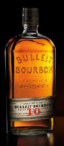 Bulleit Bourbon 10 years Old Bottle