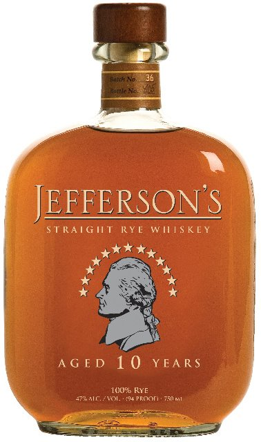Jeffersons Rye Whiskey