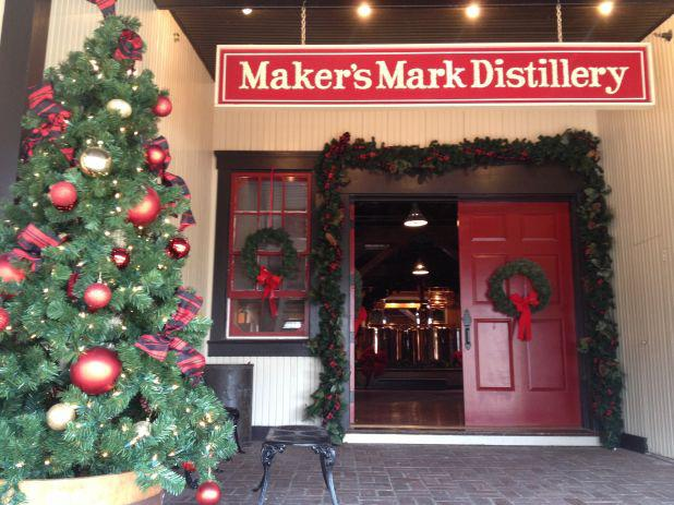 Maker's Mark Distillery during the Holiday Candlelight Tours