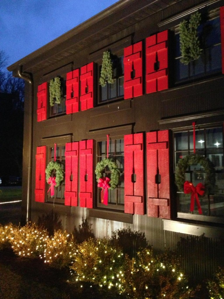 Maker's Mark Decorated for Christmas During Candlelight Tours