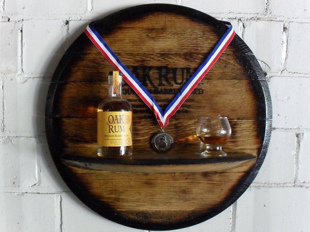 Oak Rum by Barrel House Distillery won a Silver Medal and Best in Class rating at the prestigious American Distilling Institute National Conference