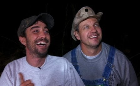 Tim and Tickle of Moonshiners