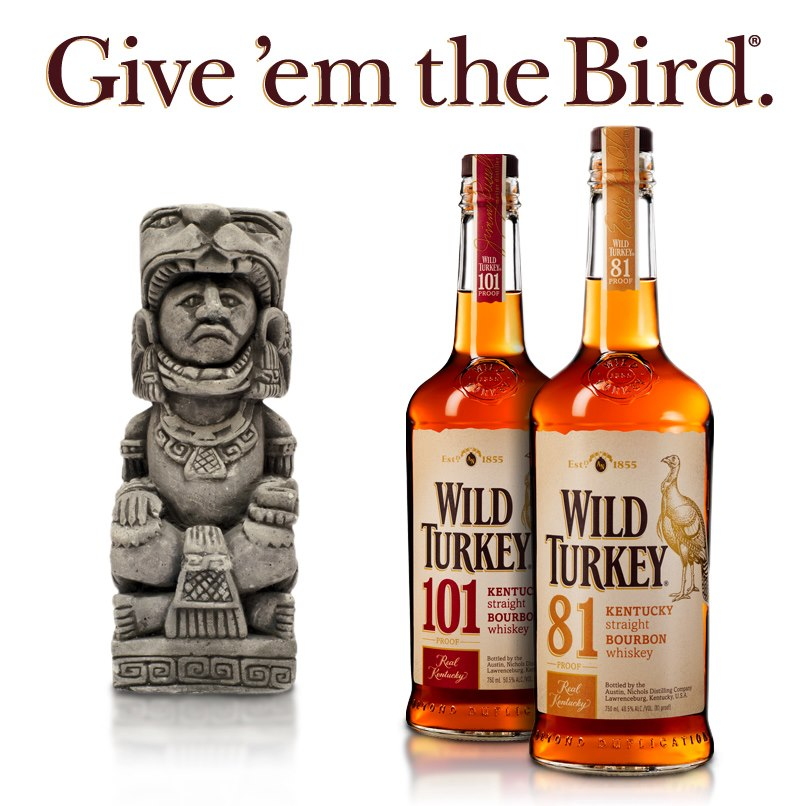 Wild Turkey Give Them The Bird