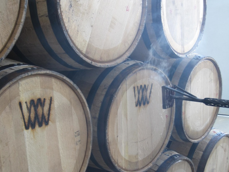 Wyoming Bourbon Barrels