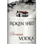 Broken Shed Vodka Bottle