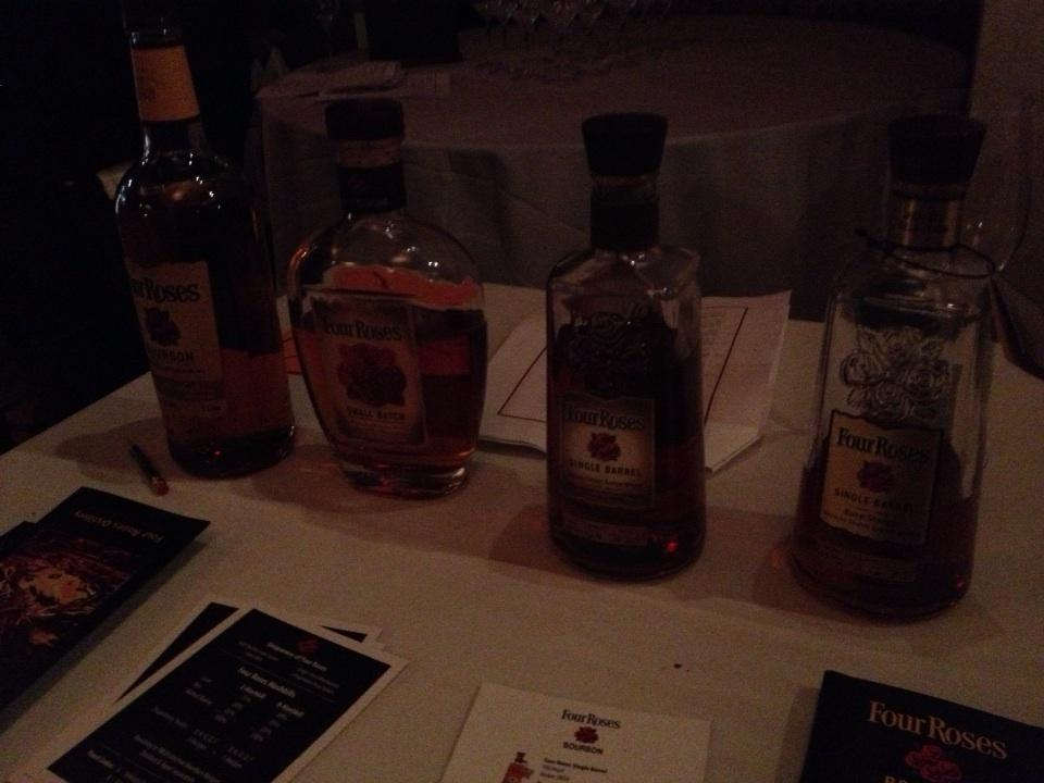 Four Roses Bourbons