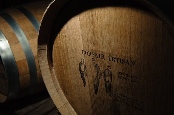 Corsair Artisan Distillery Whiskey Barrel Nashville