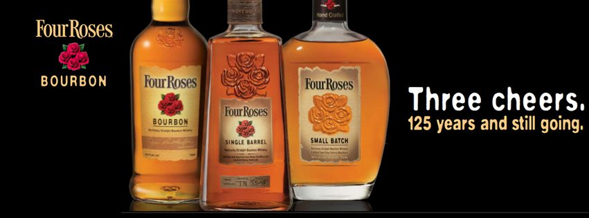 Four Roses Bourbon Advertisement