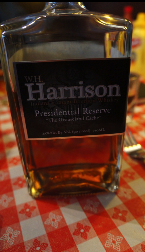 W.H. Harrison Presidential Reserve Bourbon Aged 16 years