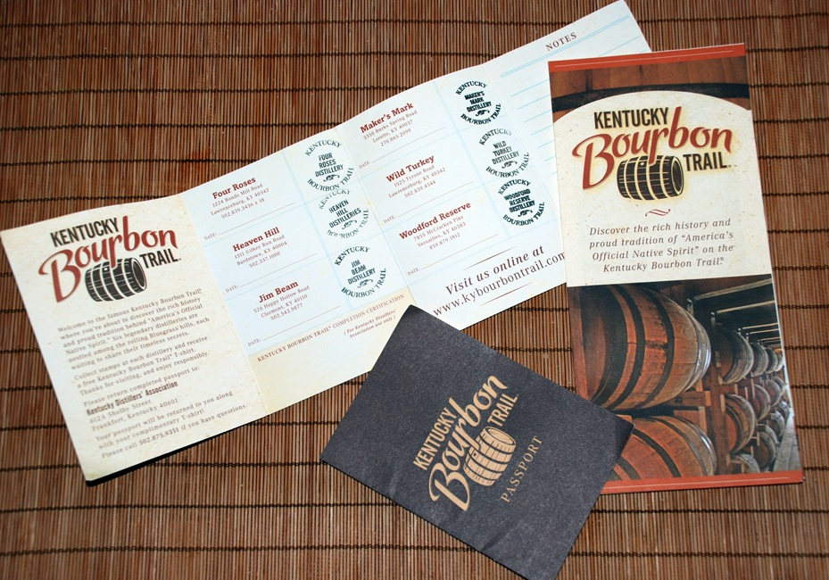 Kentucky Bourbon Trail Passport