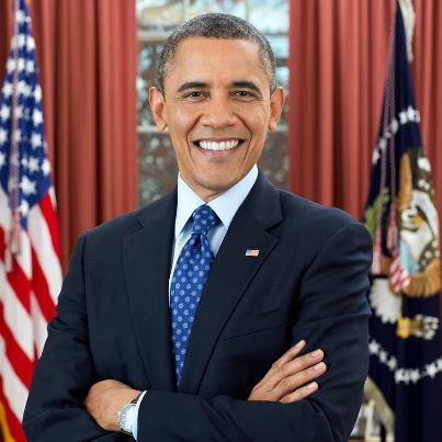 Official Barack Obama Presidential Portrait 2013