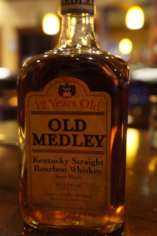 Old Medley Bourbon 12 Years Old