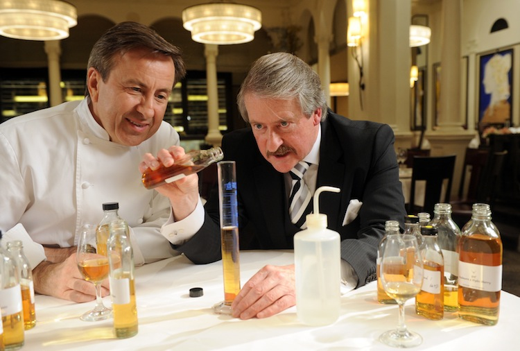 Richard Paterson Master Blender of The Dalmore works with Chef Daniel Boulud to Blend a Bespoke Single Malt Whisky Exclusively For Daniel