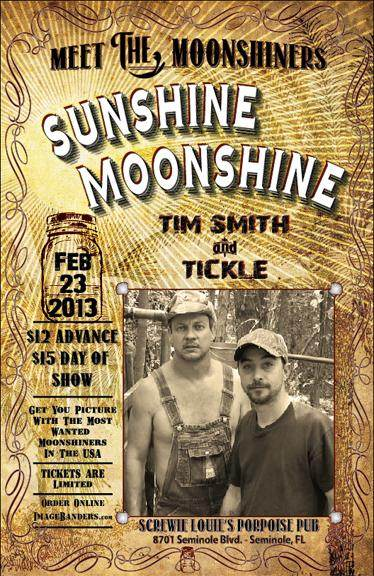 Tim Smith and Tickle Moonshiners Poster
