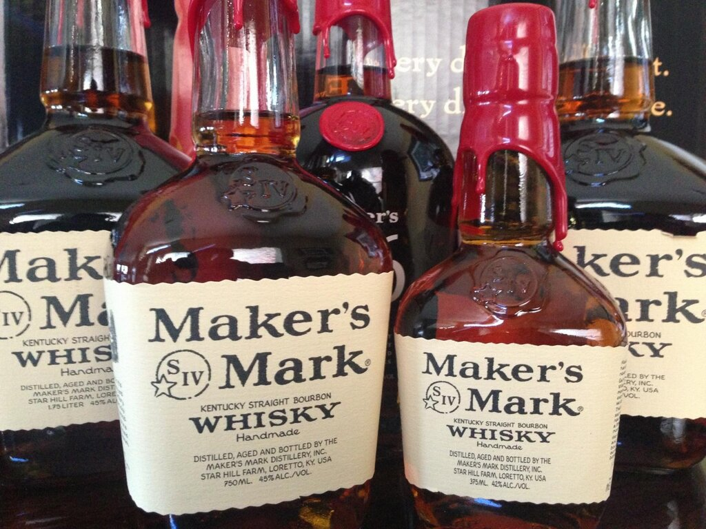 The 84 proof Maker's Mark Bourbon Collector Items